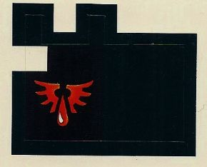 Blood Angels peel-off Banner #136124 (1994)